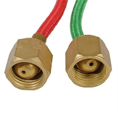 Sothat Micro-Gas Torcia Gas Piccolo Torcia Saldatura Kit di saldatura con 5 punte Saldatura pistola Hosed flessibile per piccoli strumenti,componenti e riparazione di gioielli