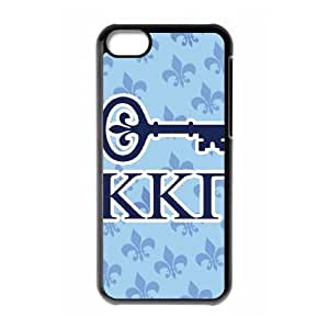 iPhone 5c Cell Phone Case Black Kappa Kappa Gamma Key OJ550143