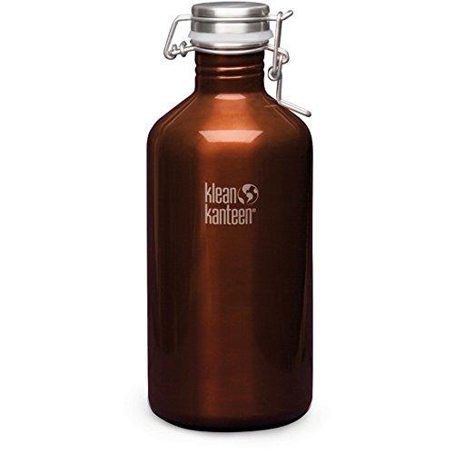 classic amber beer growler - 9