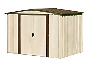 Newburgh 8 ft. x 6 ft. Steel Storage Shed(8 x 6 ft.2,4 x 1,7 m)