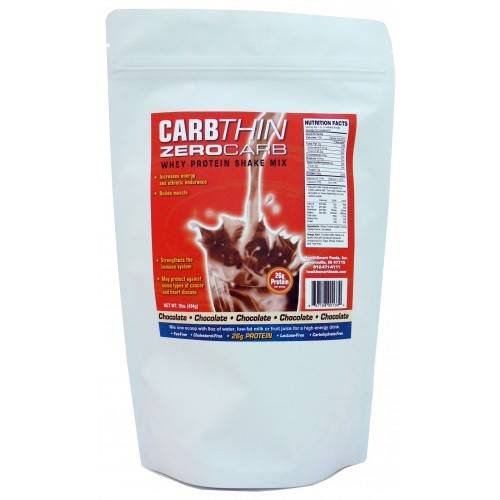 HealthSmart Foods CarbThin ZeroCarb Whey Protein Shake Mix