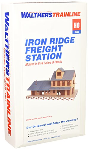 Walthers Trainline 931-905 Beginner Kit - Iron Ridge Freight Station