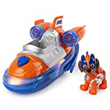 Paw Patrol, Mighty Pups Super Paws Zuma's Deluxe Vehicle with Lights & Sounds, Multicolor