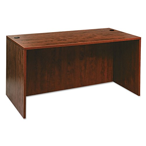Alera VA216030MC Valencia Series 60 by 30 by 29-1/2-Inch Desk Shell, Medium Cherry Series Medium Cherry