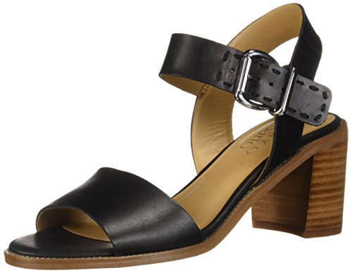 Franco Sarto Women's Havana Heeled Sandal, Black, 12 M US