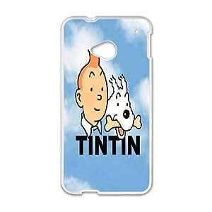 Custom Case TinTin cartoon for HTC One M7 C5R9237680