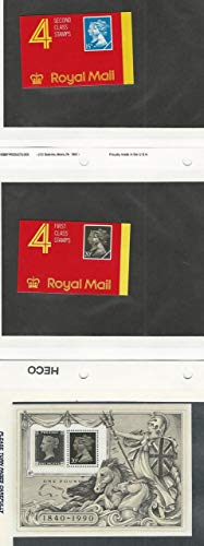 Great Britain, Postage Stamp, MH1911, MH193b Booklets MInt NH, MN193F, JFZ