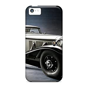 New Cynthaskey Super Strong Mercedes Benz 500k Tpu Case Cover For Iphone 5c