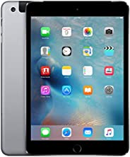 Apple iPad Mini 4, 16GB, Space Gray - WiFi (Renewed)