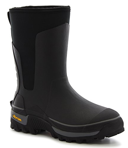 Western Chief Men's Cold Rated Neoprene Boot with Memory Foam, Black, 8 M US (Boots Water Western Black)