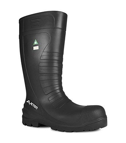 Acton All-Terrain Men Work Boots(CSA), Black, Size 15