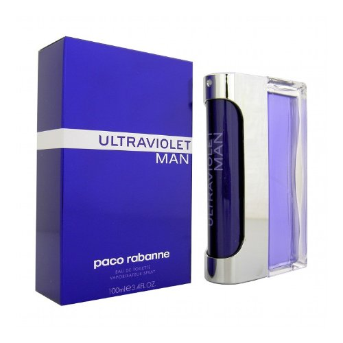 Ultraviolet Man By: Paco Rabanne 3.4 oz EDT, Men