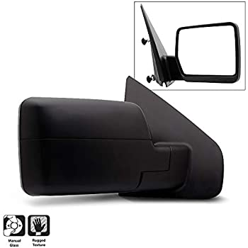 2004-2014 Ford F150 F-150 Pickup Truck Manual View Mirror Passenger Side,Right