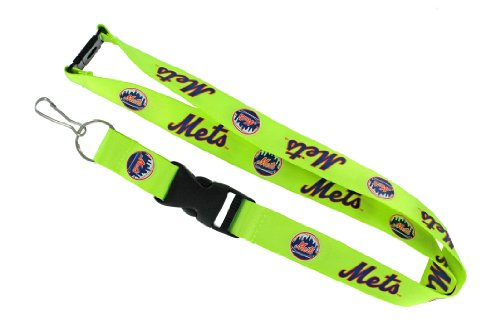 MLB New York Mets Neon Lanyard (Mets New Lanyard York)