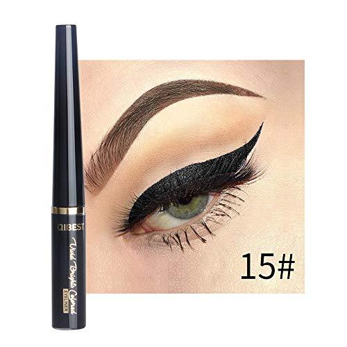 (GoodLock Hot!! Fashion Waterproof Glitter Liquid Eyeliner Ladies Beauty Metallic Shiny Smoky Eyes Eyeshadow (O))