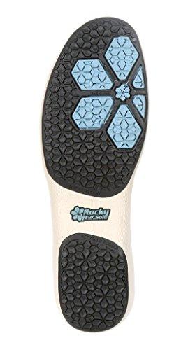4eursole Casual Chaussures Femmes Rococo Wedge Lacer Beige Rkh116 Crème Toile Bleu