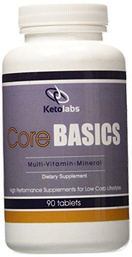 Ketolabs Multivitamin Supplement Probiotic Ketogenic