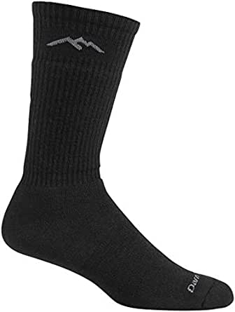 Darn Tough Travel Dress Crew Light Cushion Sock - Men's Black 2X-Large