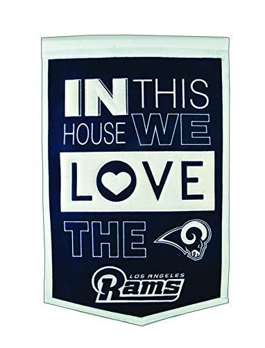 Winning Streak NFL St. Louis Rams Home Banner ()