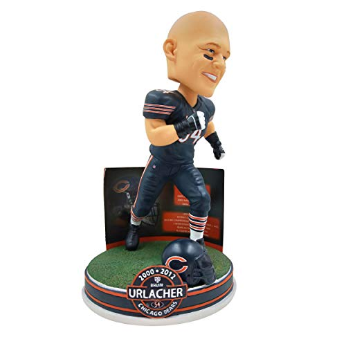 NFL Career Stats Bobbleheads Brian Urlacher (Chicago Bears) by Foco