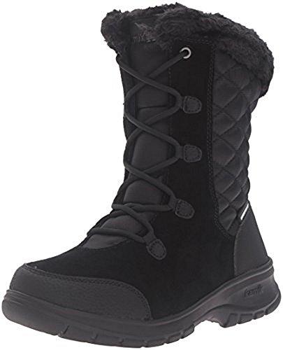 Kamik Waterproof Snow Boots - Kamik Women's Boston2 Snow Boot, Black, 9 M US