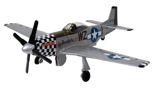 cale Boeing P-51 Mustang Die-Cast Model ()