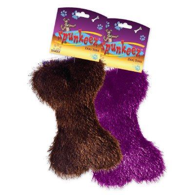 SPUNKEEZ FLEECE BONE 6.5'' #35252, CASE OF 144