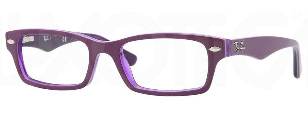 Ray-Ban Unisex Kids  0RY1530 Optical Frames, Purple (Violett Transparent), 5 151ddd242c
