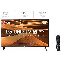 Smart TV 4K Ultra HD LG LED 49 polegadas 49UM7300PSA, em breve com Alexa Integrada