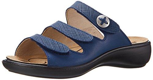 Donna 72 Sandali blau Ibiza Blu Romika FOqn6xBwn
