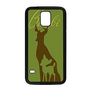 Bambi Samsung Galaxy S5 Cell Phone Case Black 218y-932618