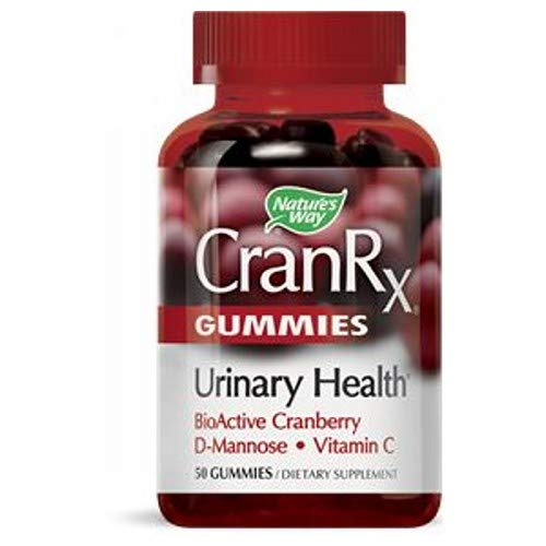CranRx Gummies, 60 Count by Nature's Way (Pack of 2) - 60 Count Gummy