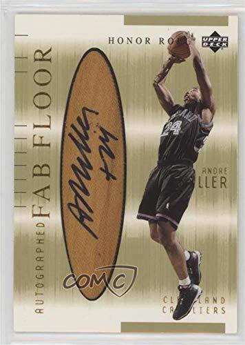 Andre Miller (Basketball Card) 2001-02 Upper Deck Honor Roll - Fab Floor - Autographs [Autographed] #AM-A
