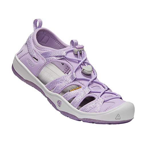 Keen Kids Girl's Moxie Sandal (Little Kid/Big Kid) Lupine/Vapor 1 M US Little Kid