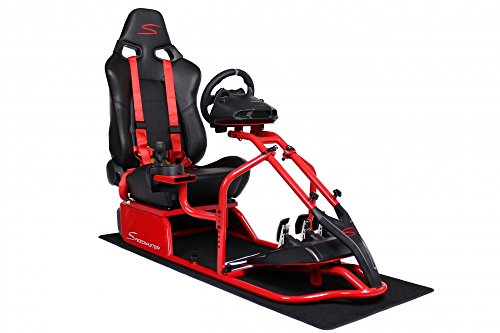 Speedmaster S Red - Leather Look, - Seats Racing Forza