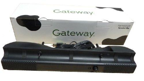 Gateway Usb Ports (Gateway MultiMedia USB Flat Panel LCD Monitor Speaker Bar System -)