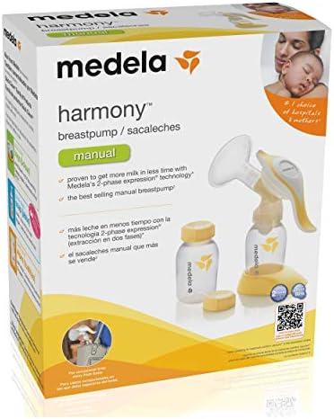 Medela Harmony Manual Breastpump by Medela: Amazon.es: Bebé
