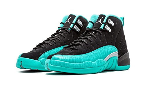 AIR JORDAN 12 Retro GG (GS) 'Hyper Jade' - 510815-017 - Size 4 by NIKE