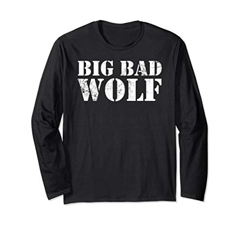 Big Bad Wolf Shirt - Wolves Werewolf Winter Costume Party -