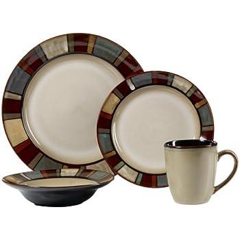 Pfaltzgraff Everyday Nile Dinnerware Set 32 Piece  sc 1 st  Amazon.com & Amazon.com | Pfaltzgraff Everyday Nile Dinnerware Set 16 Pc ...