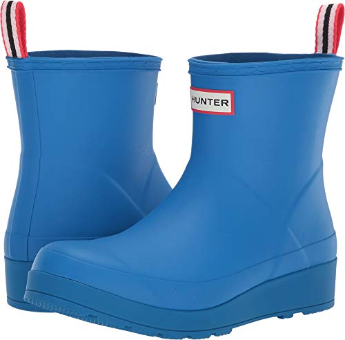 Hunter Women's Original Play Boot Short Rain Boots Bucket Blue 11 M US (Womens Size 11 Hunter Boots)