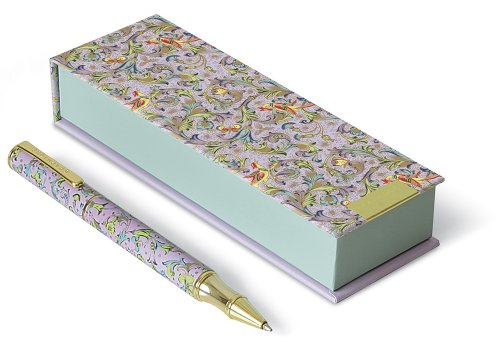 Graphique - Florentine Purple Pen with self-display packaging