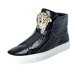 Leather Medusa Sneakers Shoes