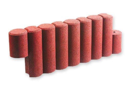 Kettenelement 1000 aus Gummigranulat (rotbraun)