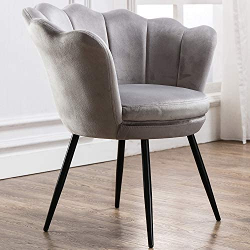 Velvet Upholstered Living Room Chair