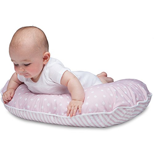 Boppy Pillow Slipcover, Classic Plus Confetti Dot and Stripe Pink by Boppy (Image #4)