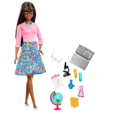 Mattel Barbie Teacher African American Doll: Toys & Games