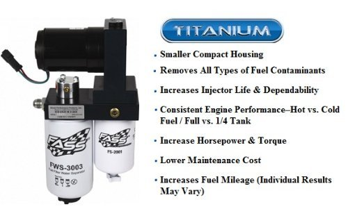 FASS Fuel Air Separation System Titanium-Series 150gph 05-12 Dodge Ram Cummins 5.9L 6.7L Diesel - T D07 150G - by Fass