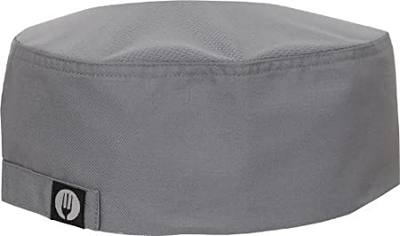 5d5071e9a30c92 Image Unavailable. Image not available for. Colour: Chef Works DFCV-GRY Cool  Vent Skull Cap ...