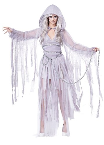 Fancy Ghost of Christmas Haunting Beauty Adult Women Costume (Haunting Beauty)